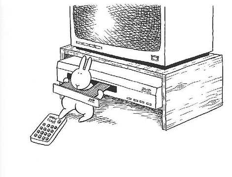 bunny_suicide_tv_remote